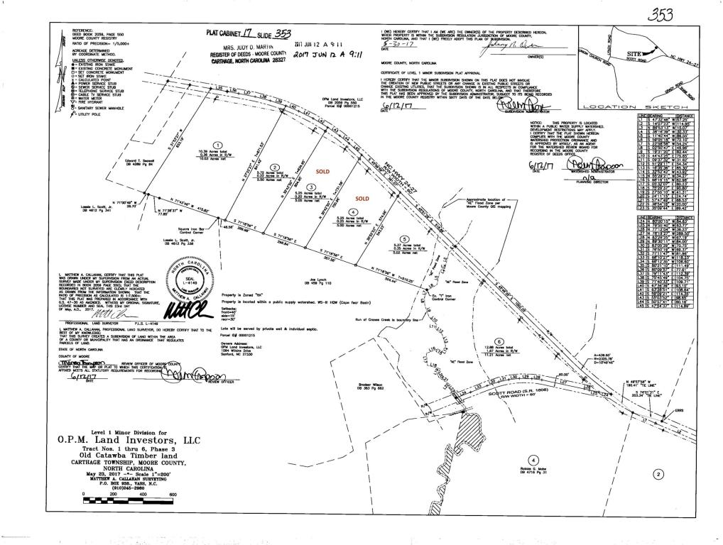 Land for sale in Lot 6 Hwy 24/27, Carthage, NC ,28327