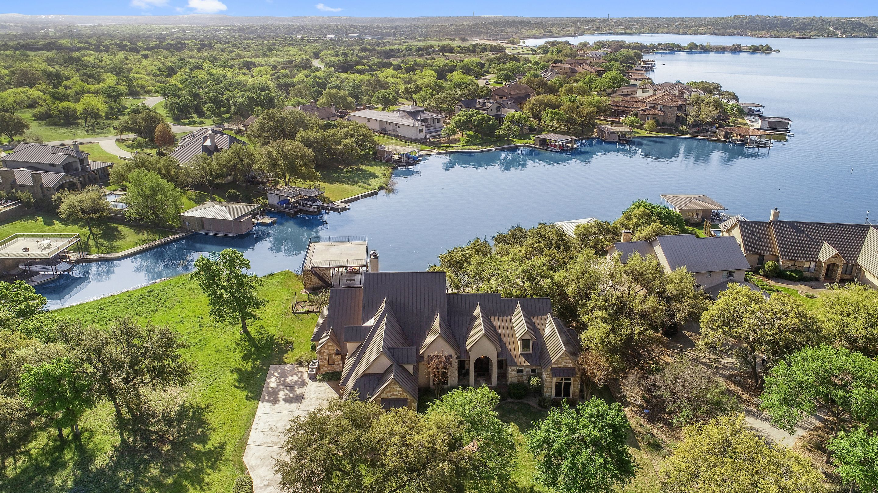 Single Family Home for sale in 311 Wilderness Drive West On Lake LBJ, Marble Falls, Texas ,78654