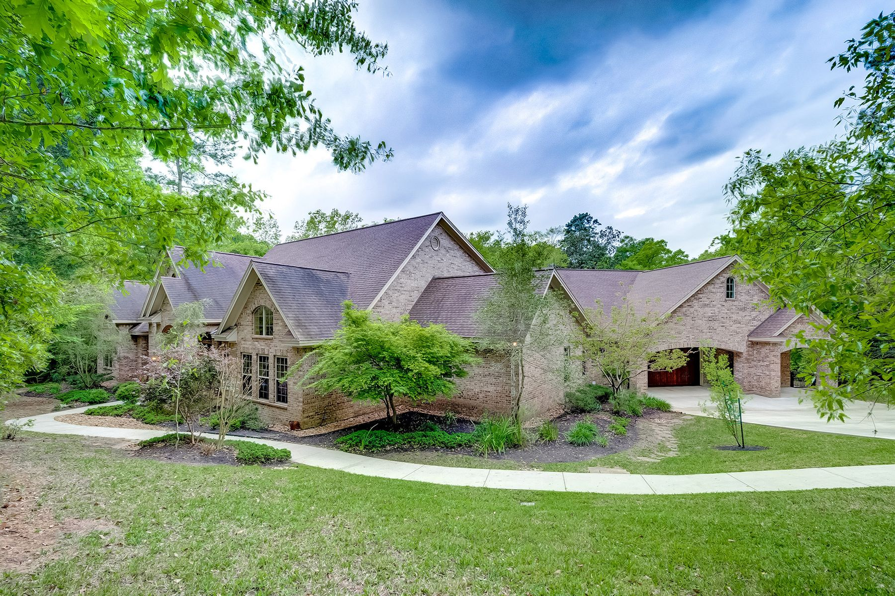 Single Family Home for sale in 7421 Enchanted Stream Drive, Conroe, Texas ,77304