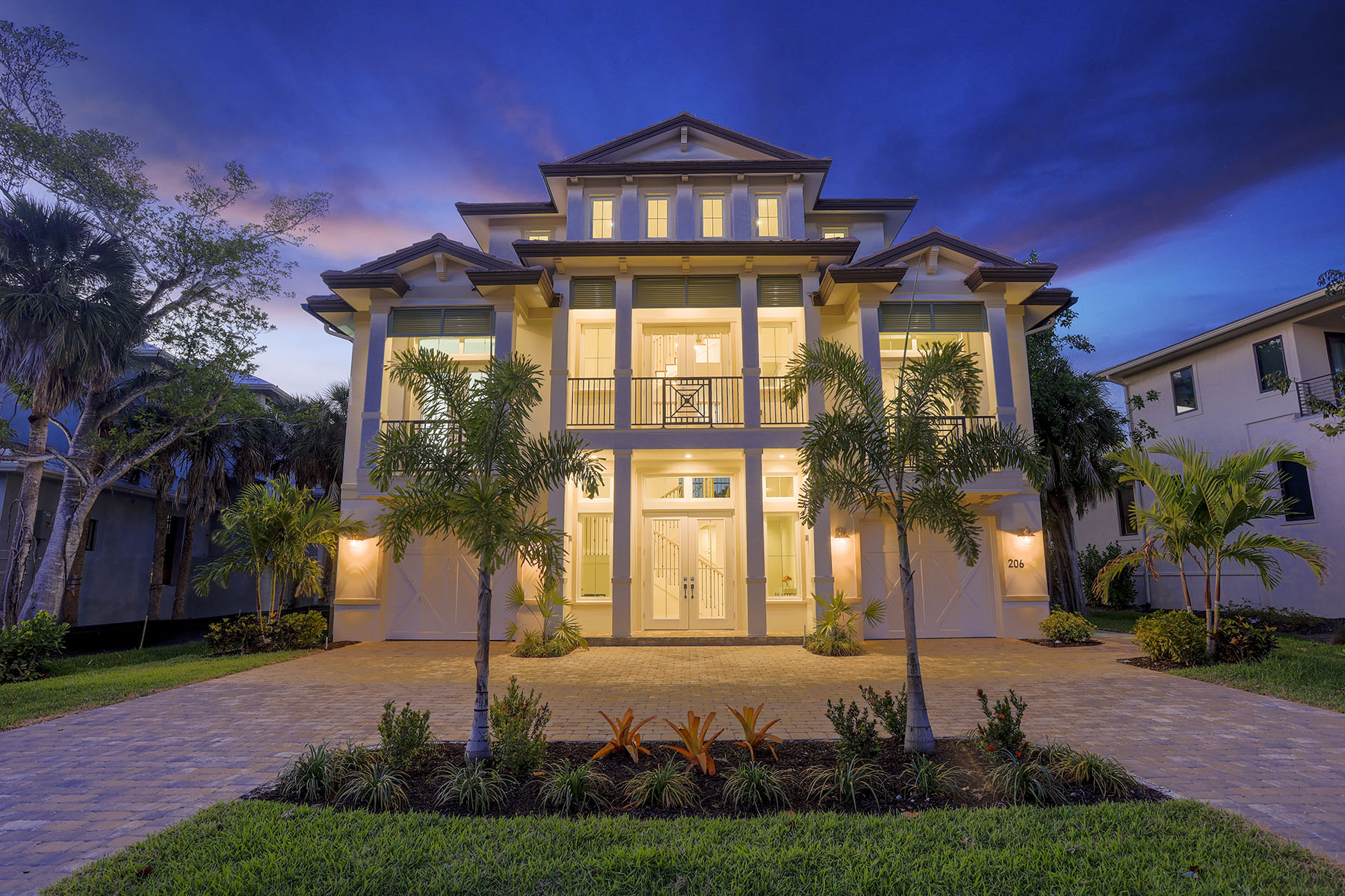 Single Family Home for sale in 206 Hideaway Circle N, Marco Island, Florida ,34145