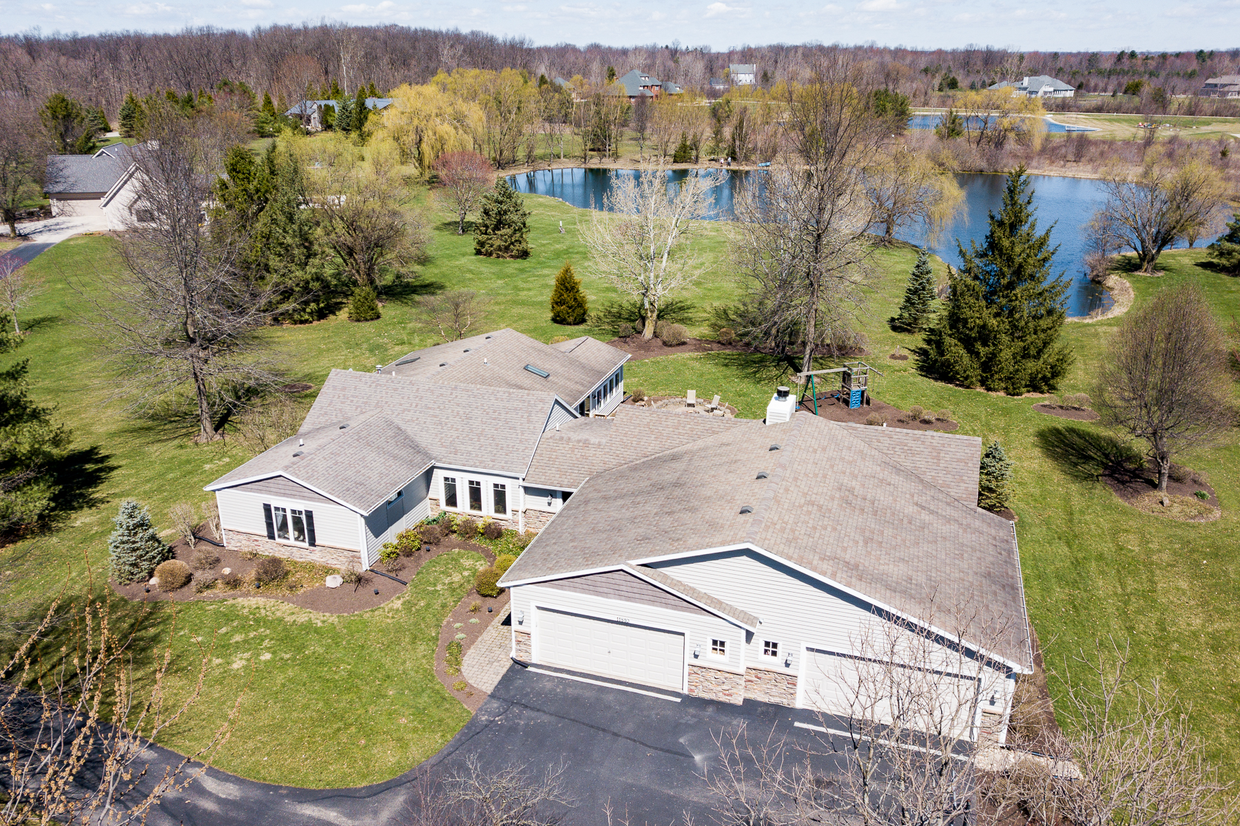 Single Family Home for sale in 11810 Aboite Center Rd, Fort Wayne, Indiana ,46814
