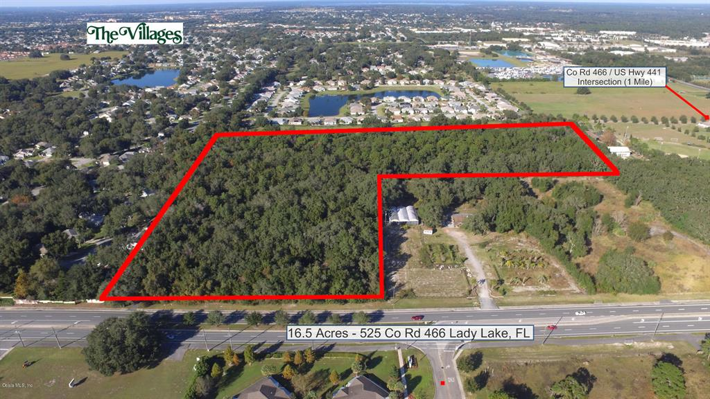 Land for sale in 525 County Road 466, Lady Lake, Florida ,32159