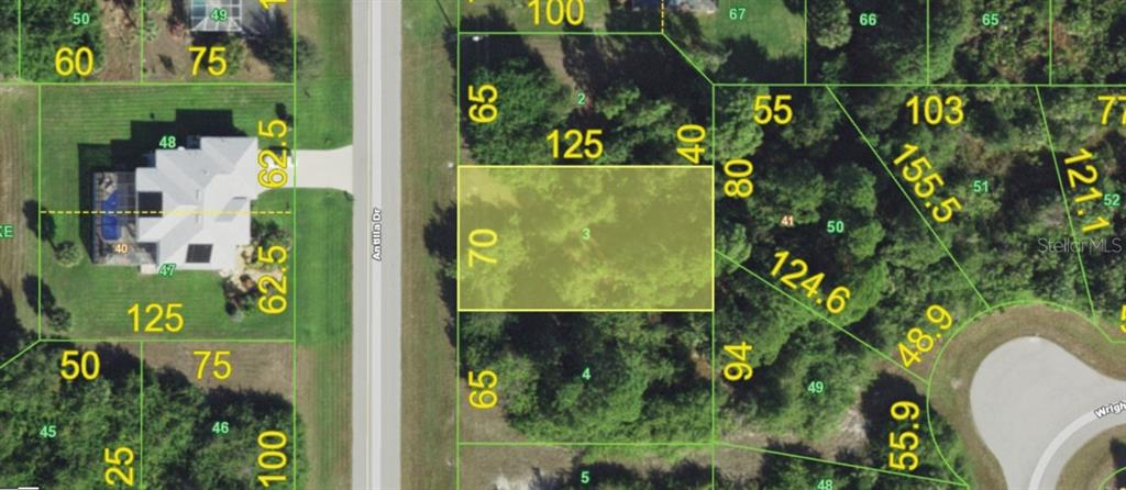 Land for sale in 191 Antilla DRIVE, Rotonda West, Florida ,33947
