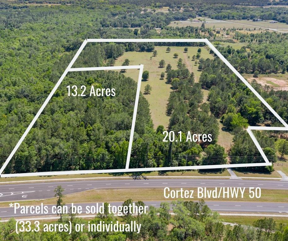 Land for sale in 18008 Cortez BOULEVARD, Brooksville, Florida ,34601