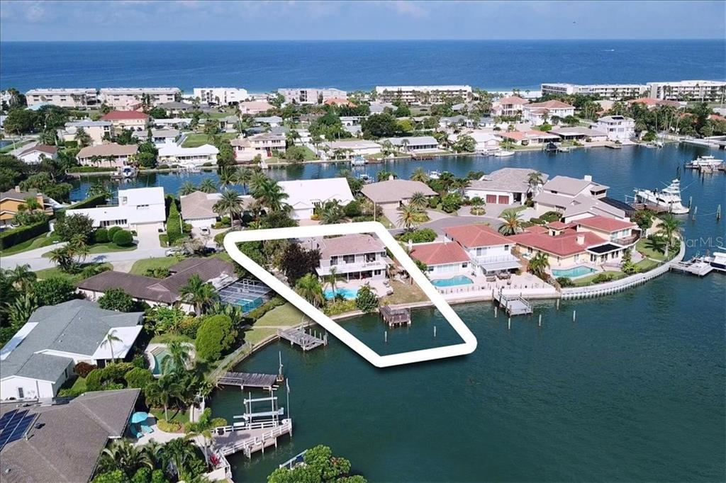Single Family Home for sale in 3105 Wedgewood DRIVE, Belleair Beach, Florida ,33786