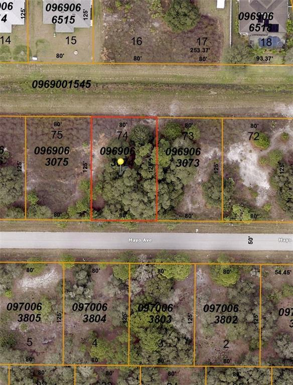 Land for sale in 0000 Mayo AVENUE, North Port, Florida ,34291