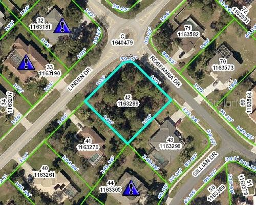 Land for sale in 14661 Linden DRIVE, Spring Hill, Florida ,34609