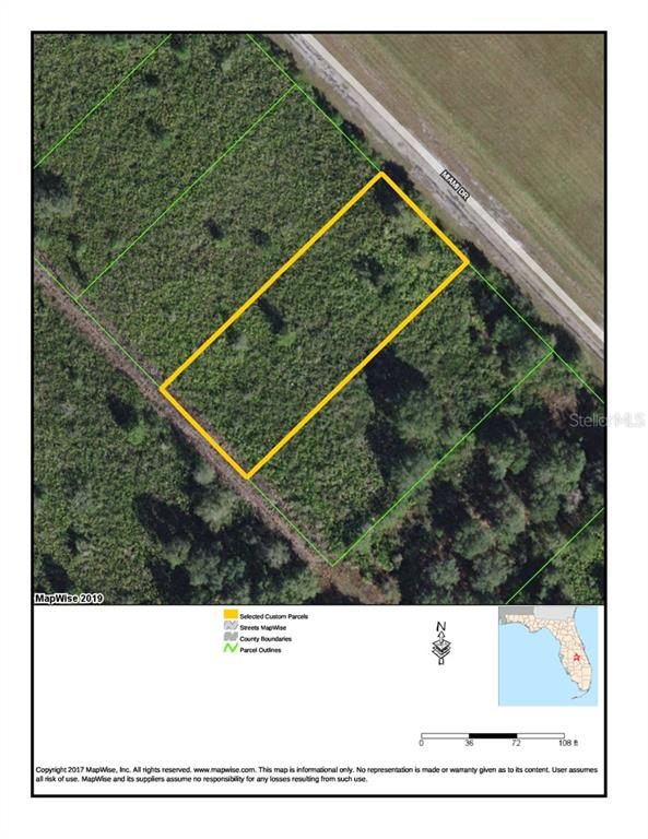Land for sale in Miami DRIVE, Indian Lake Estates, Florida ,33855