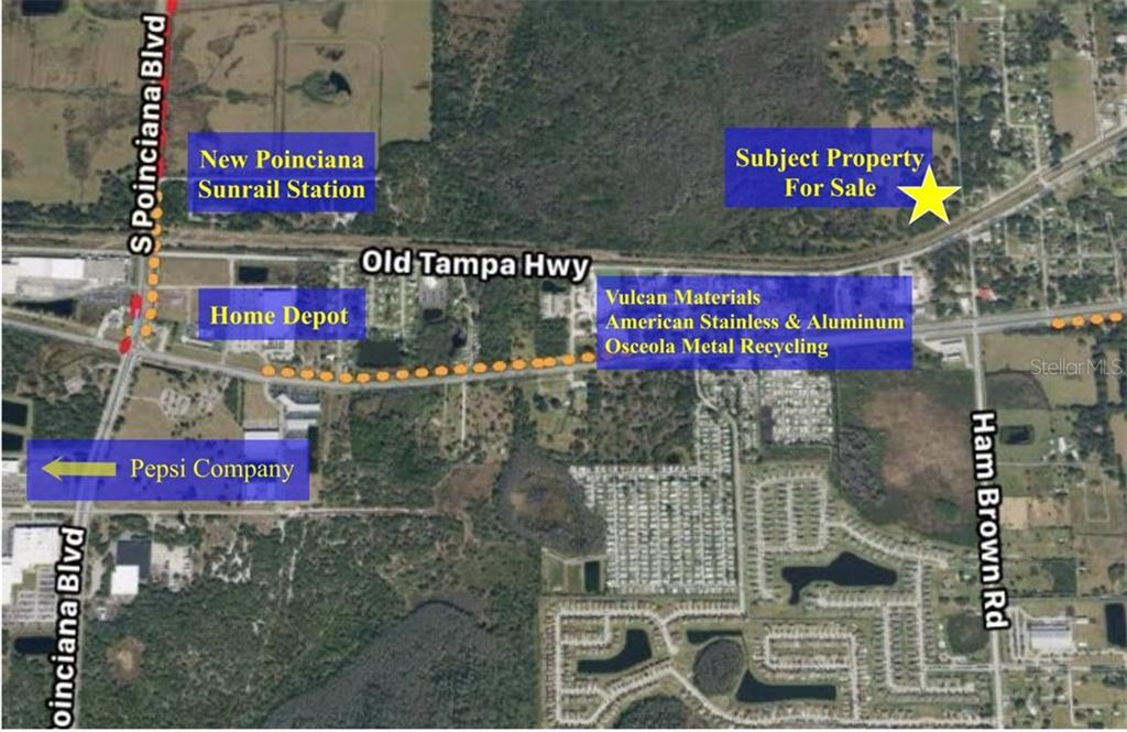 Land for sale in Old Tampa HIGHWAY, Kissimmee, Florida ,34746